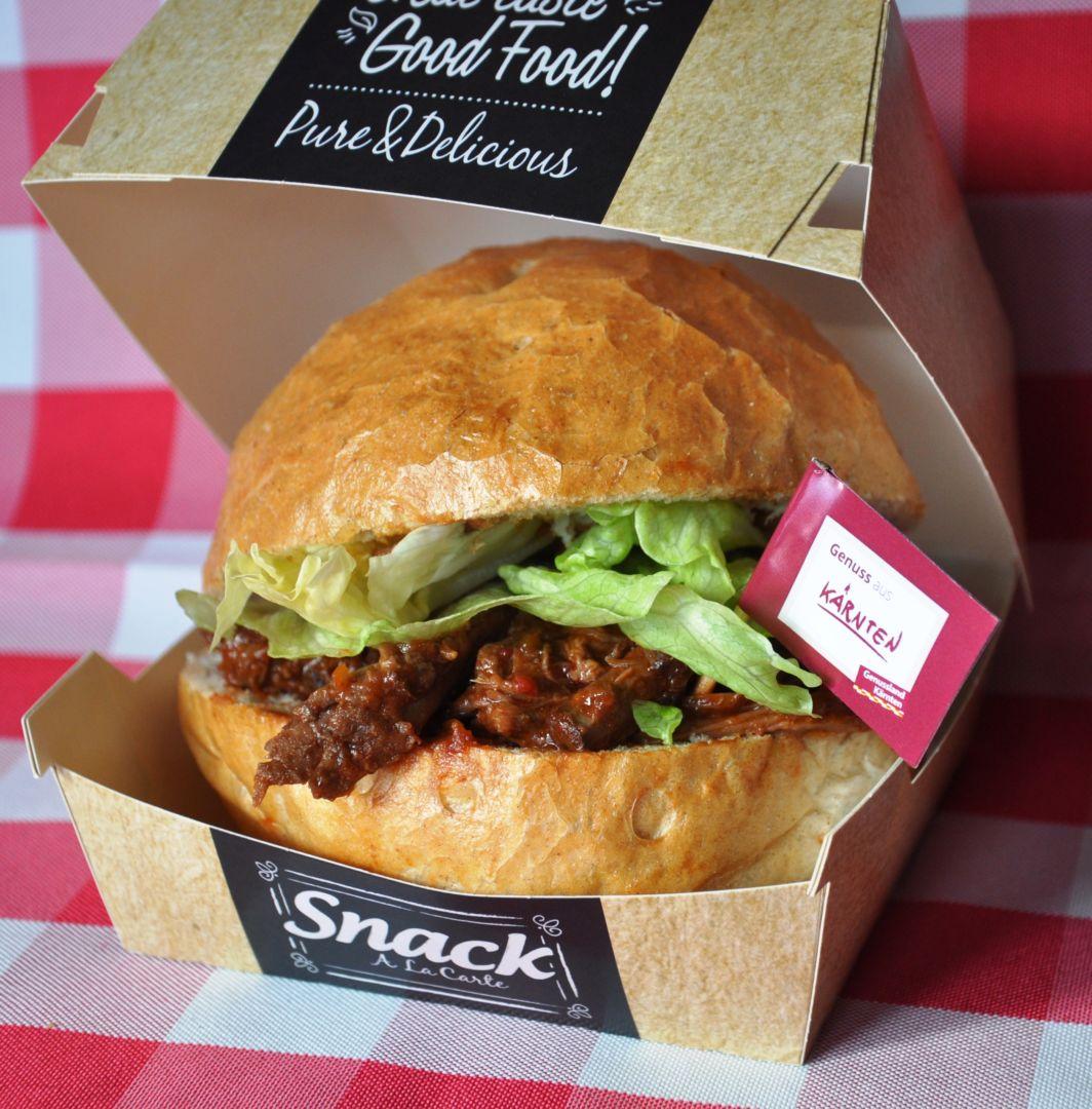 Pullet-Beef-Burger, GS – Gailtal Style by Gratzer Stefan