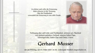 Gerhard Mosser, www.gitschtal.news