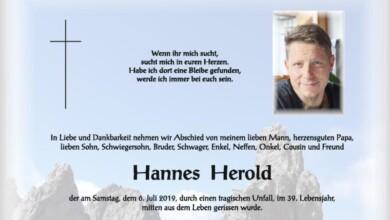 Herold Hannes 2019