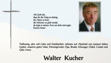 Kucher Walter 2019